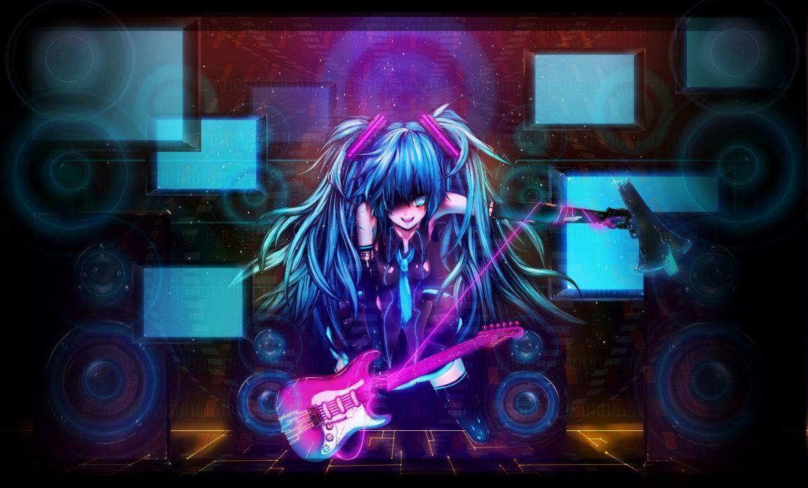 Hatsune Miku Vocaloid Psychopath Wallpaper 2000x1207 788164