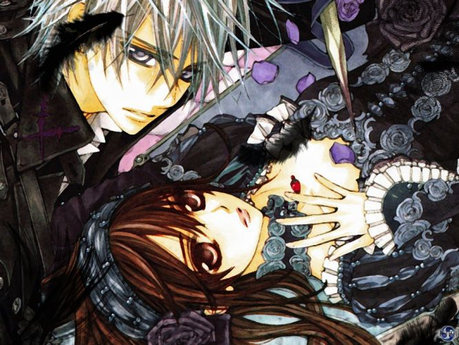 Vampire Knight Zero and Yuuki wallpaper