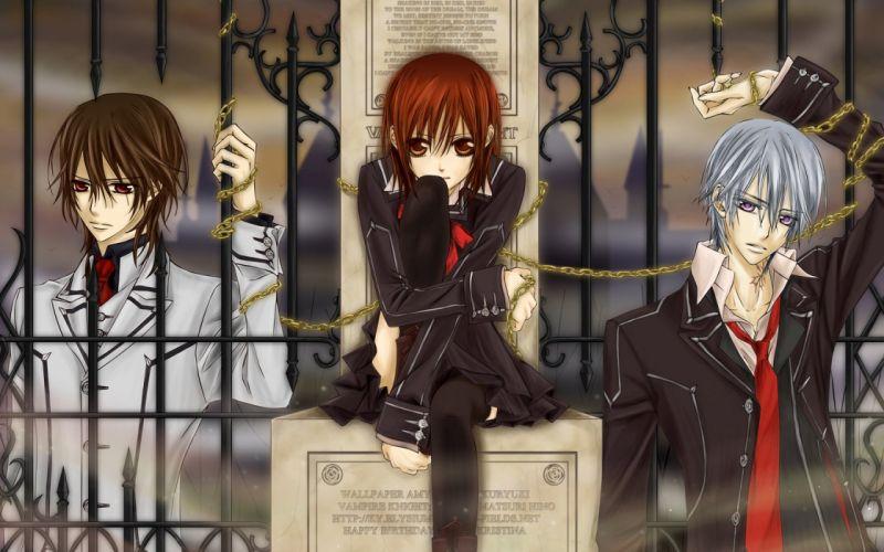 Vampire knight Yuuki Zero and Kaname wallpaper