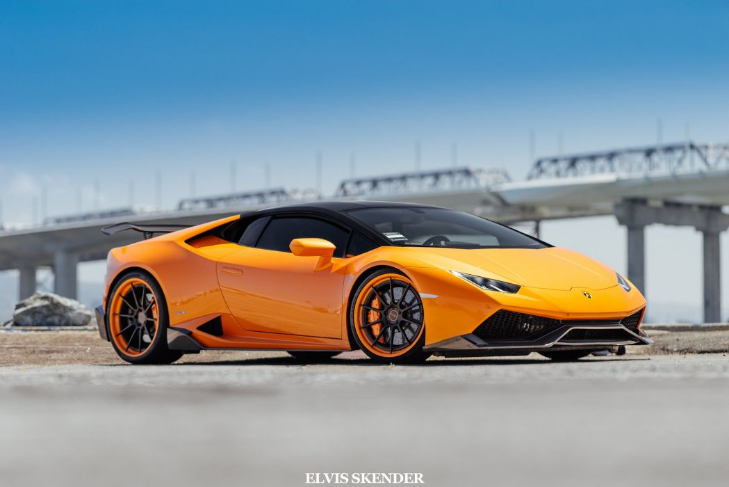 2015 cars huracan Lamborghini supercars Tuning wallpaper