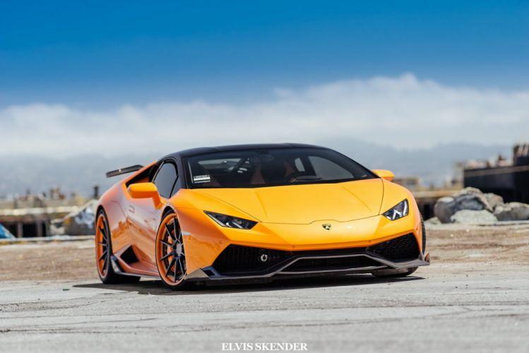 2015 cars huracan Lamborghini supercars Tuning wallpaper