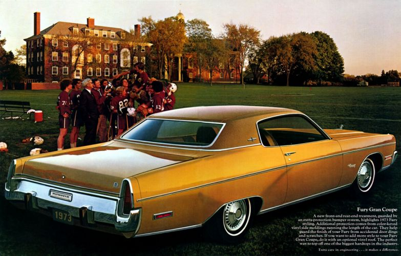 PLYMOUTH FURY muscle classic wallpaper