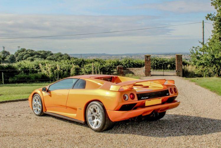 Lamborghini Diablo-VT UK-spec cars supercars 2000 wallpaper
