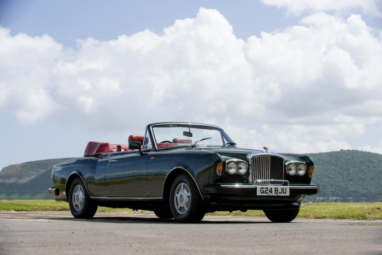 Bentley Continental Convertible UK-spec cars classic 1990 wallpaper