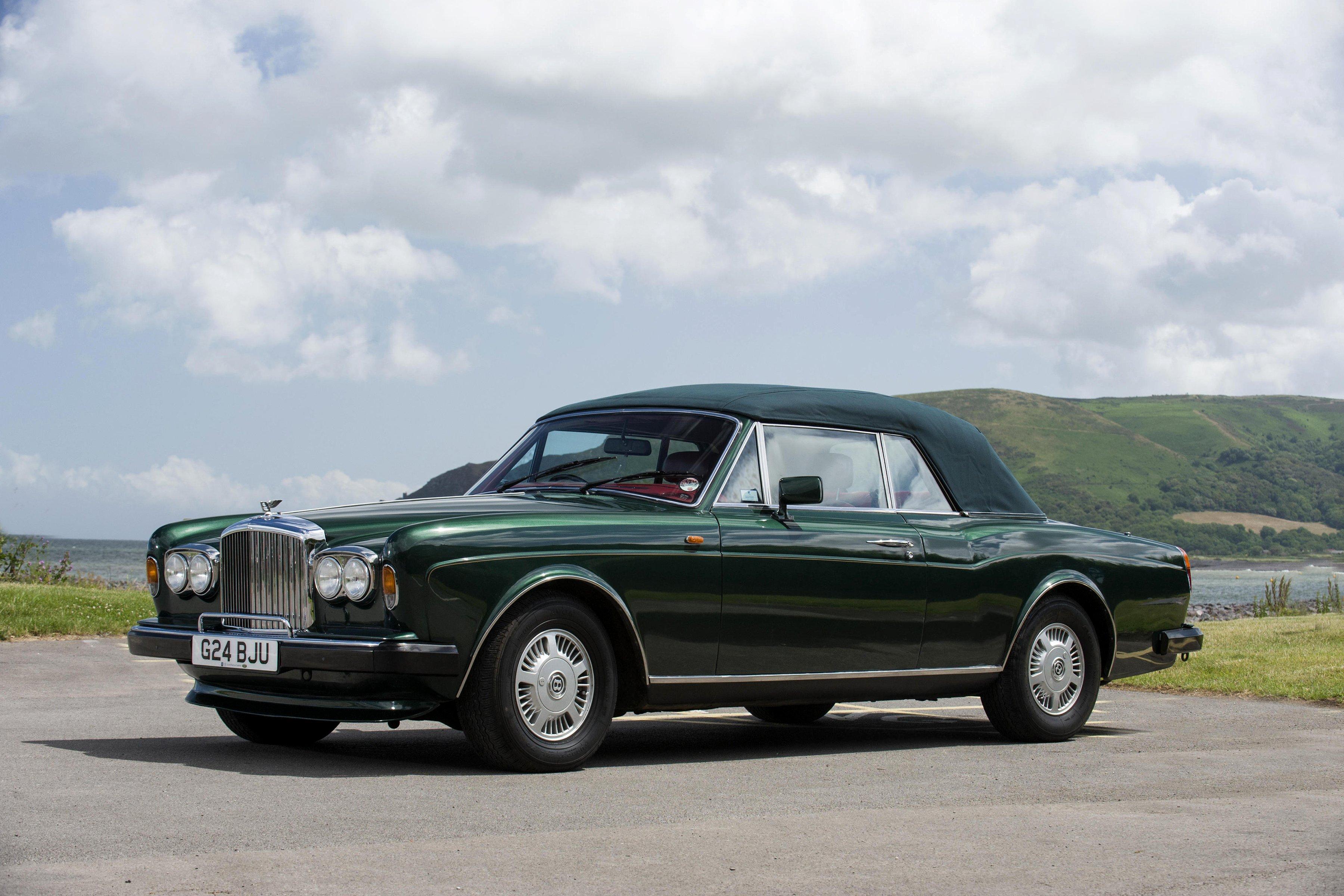 Bentley continental convertible uk spec cars classic 1990 wallpaper 3600x2400 788378 wallpaperup