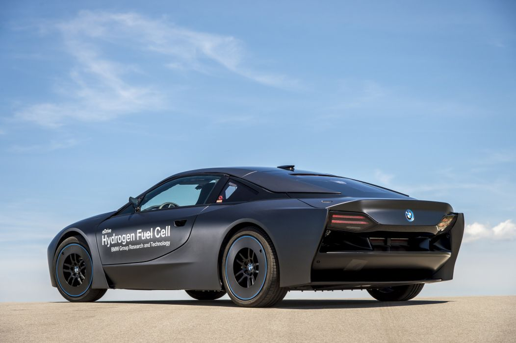 BMW-i8 Hydrogen Fuel Cell eDrive Prototype cars 2015 wallpaper
