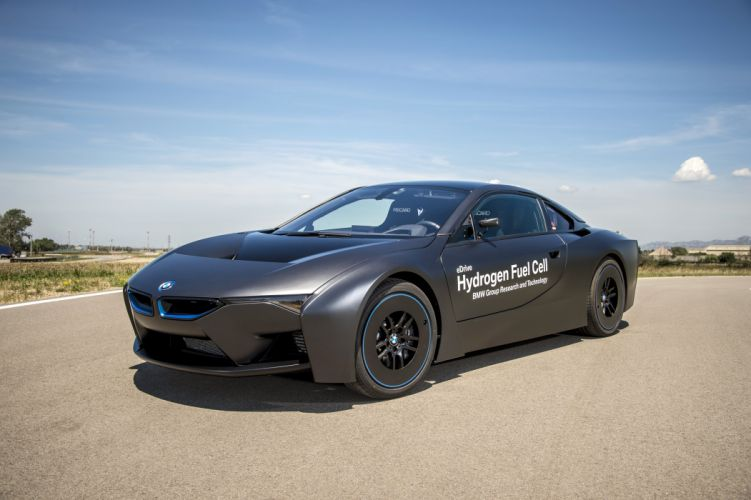 BMW-i8 Hydrogen Fuel Cell eDrive Prototype cars 2015 wallpaper