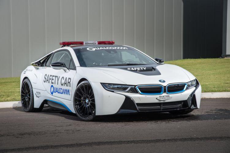 BMW-i8 Formula-E Safety Car cars electric 2014 wallpaper