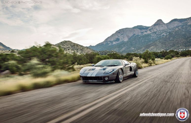 Ford-GT coupe cars supercars HRE wheels wallpaper