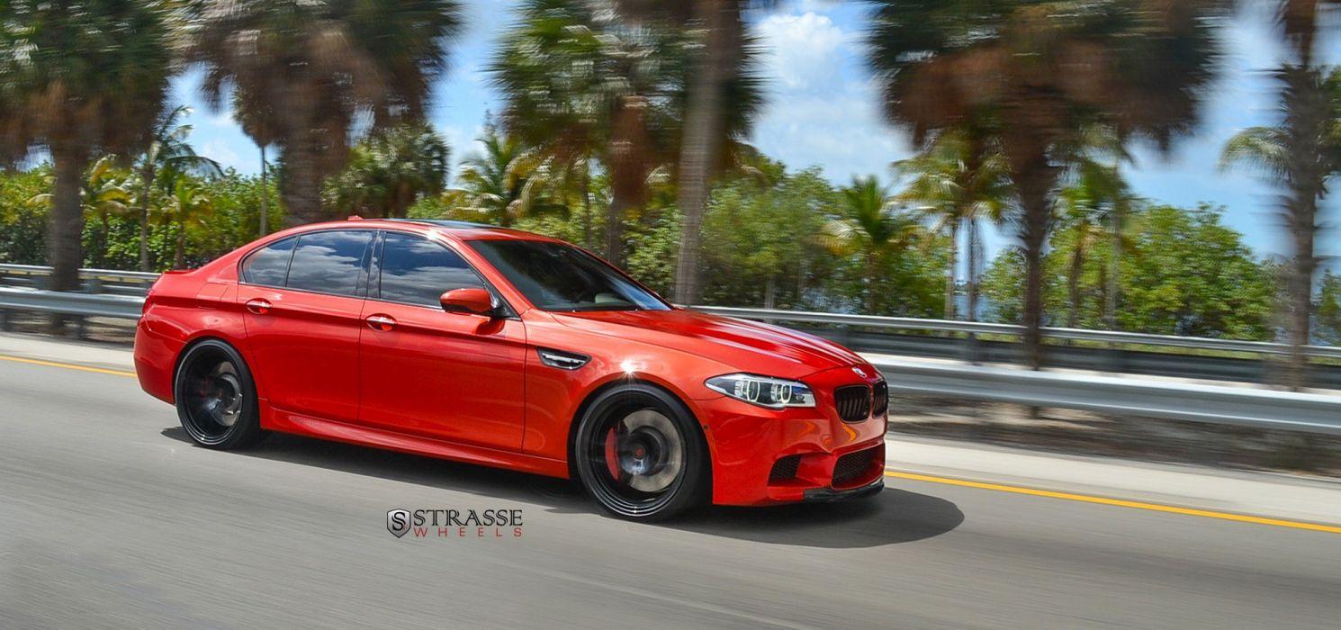 Strasse Wheels BMW-M5 f10 sedan cars wallpaper