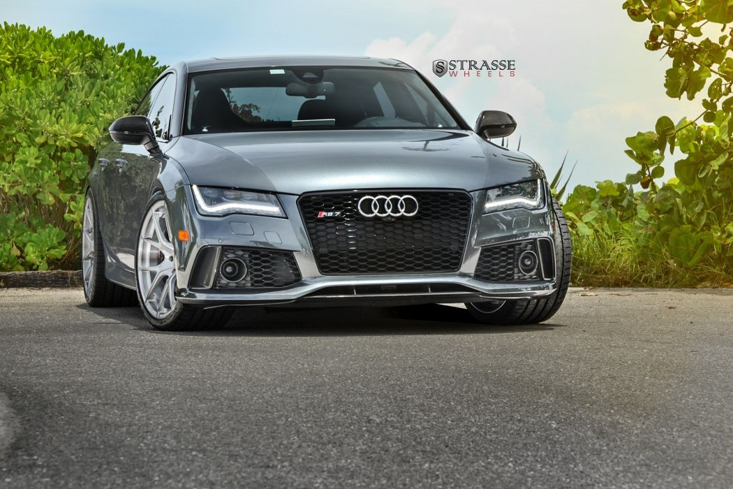 Strasse Wheels Audi RS7 cars wallpaper
