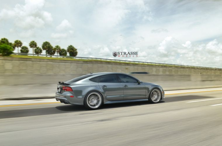 Strasse Wheels Audi RS7 cars wallpaper