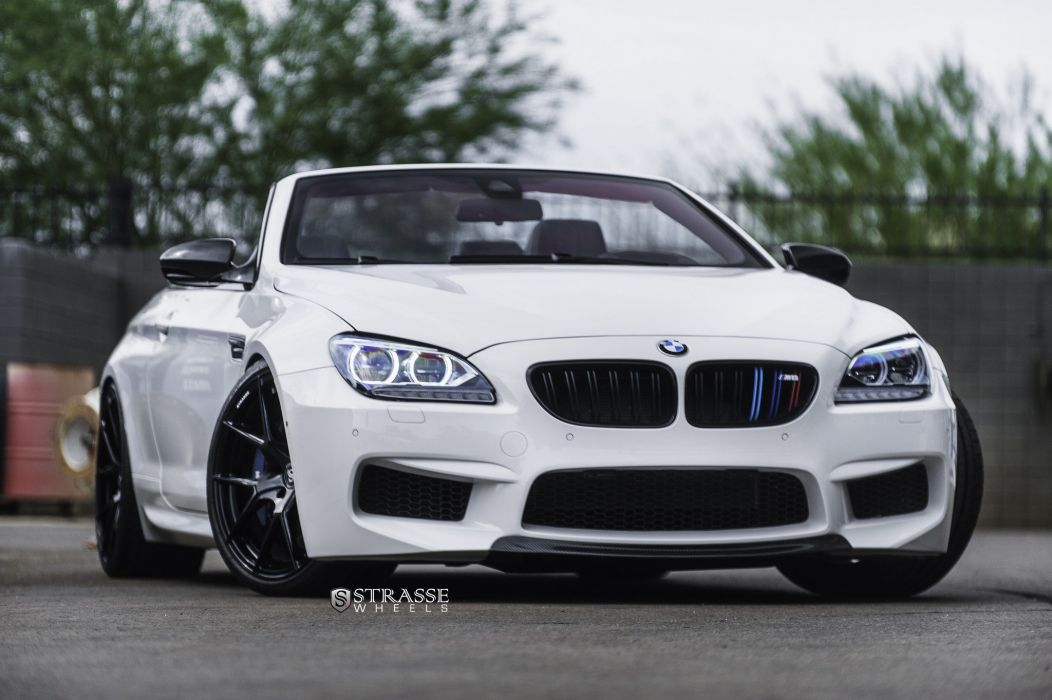 Strasse Wheels BMW F12 M 6 convertible cars modified wallpaper
