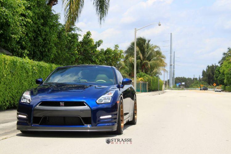 Strasse Wheels Nissan GT-R cars wallpaper