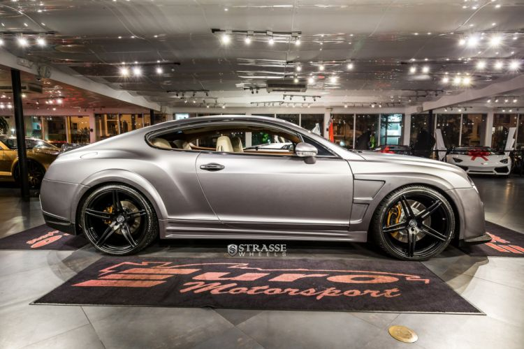 Strasse Wheels Wide Body Bentley-GT continental coupe cars wallpaper
