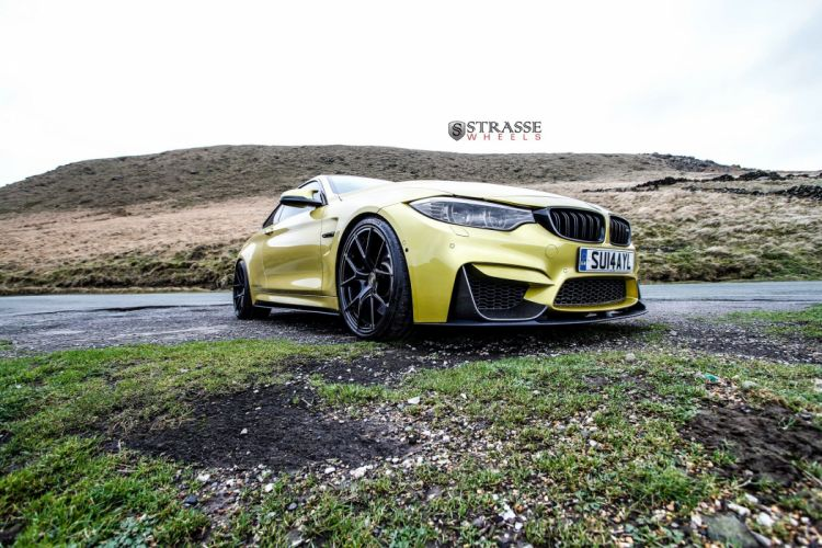 Strasse Wheels BMW-M4 coupe cars wallpaper
