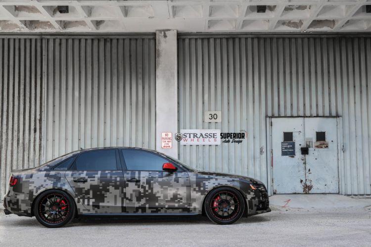 Strasse Wheels Audi-S4 Superior Auto Design modified cars wallpaper
