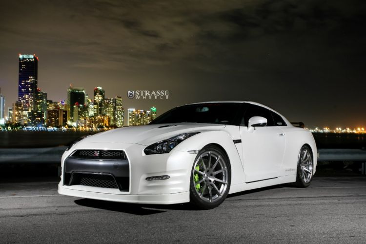 Strasse Wheels nissan gt-r coupe cars wallpaper