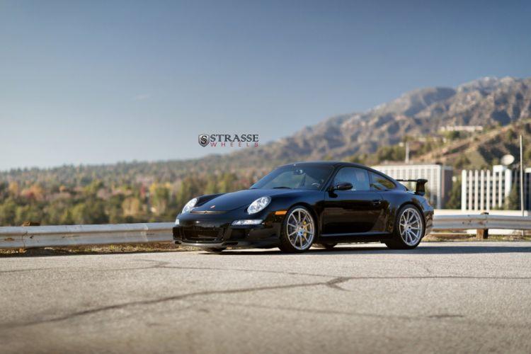 Strasse Wheels Porsche GT3 911 997 cars wallpaper