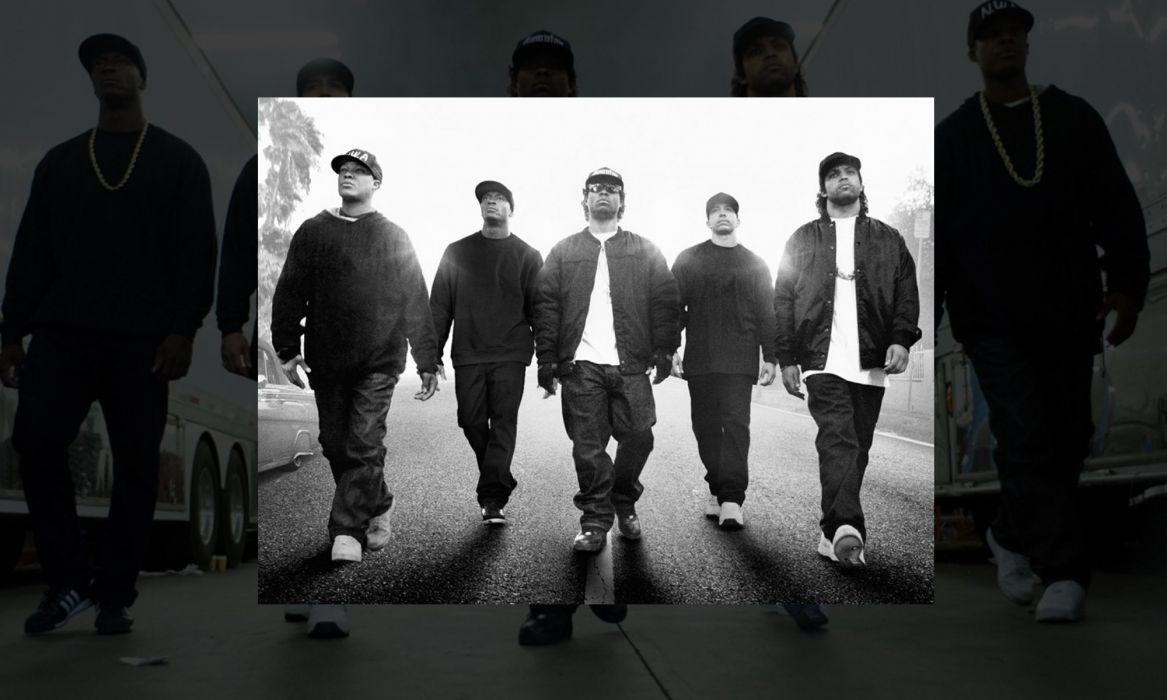 STRAIGHT OUTTA COMPTON rap rapper hip hop gangsta nwa biography drama music 1soc wallpaper