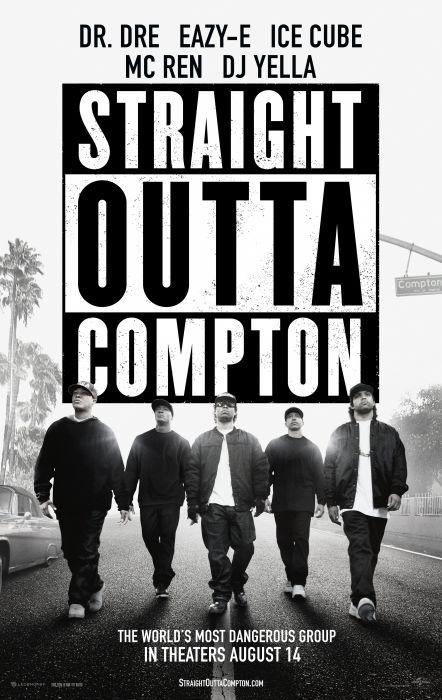 STRAIGHT OUTTA COMPTON rap rapper hip hop gangsta nwa biography drama music 1soc poster wallpaper
