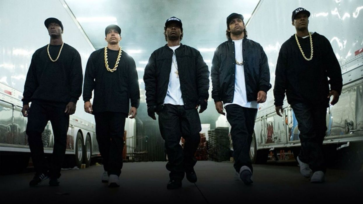 STRAIGHT OUTTA COMPTON rap rapper hip hop gangsta nwa biography drama music 1soc wallpaper