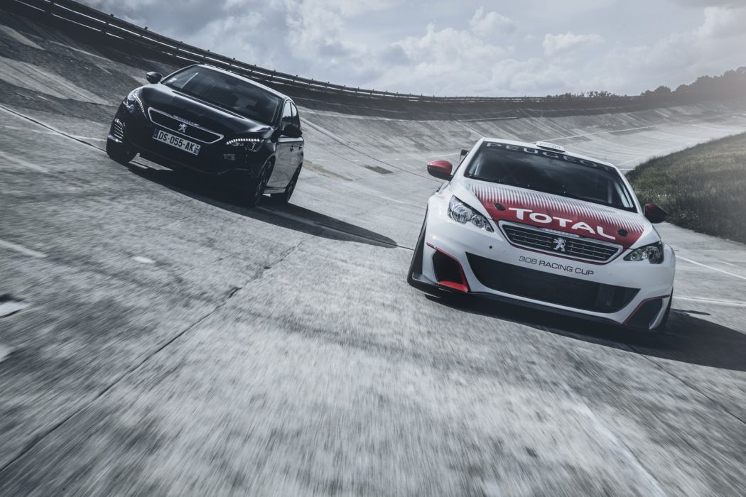 Peugeot 308 Racing Cup cars 2016 french wallpaper