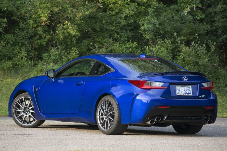 2015 Lexus RC-F coupe cars wallpaper