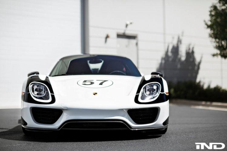 Porsche 918 Spyder HRE Wheels cars supercars wallpaper