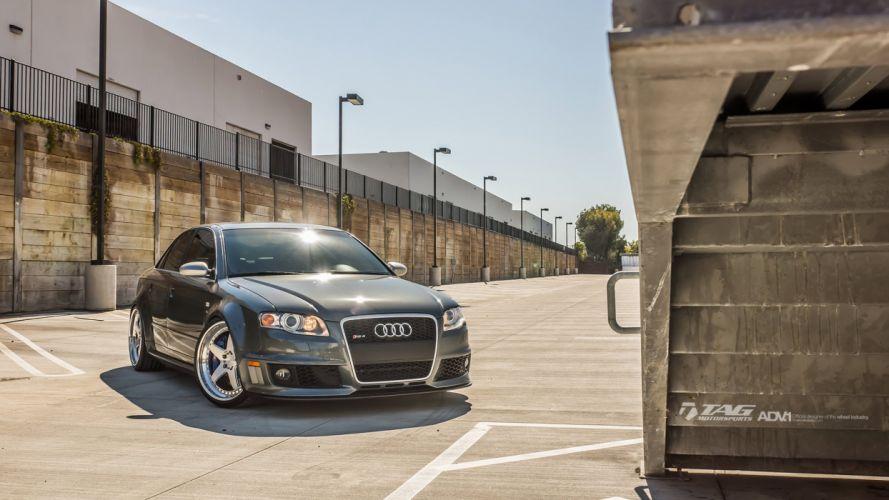 AUDI RS4 adv1 Wheels cars sedan wallpaper