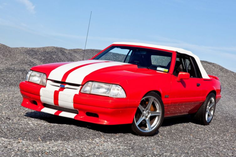 1992 ford mustang convertible cars usa wallpaper