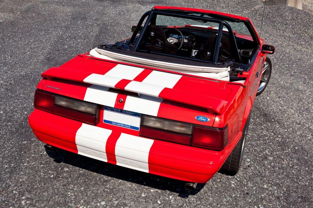 1992 ford mustang convertible cars usa wallpaper