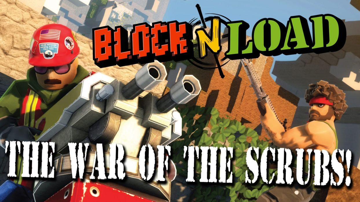 BLOCK N LOAD action fighting online mmo shooter sci-fi tactical warrior 1bnl poster wallpaper