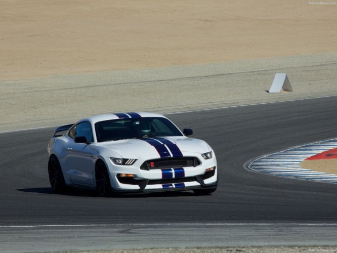 2015 cars Ford gt350r Mustang Shelby USA wallpaper