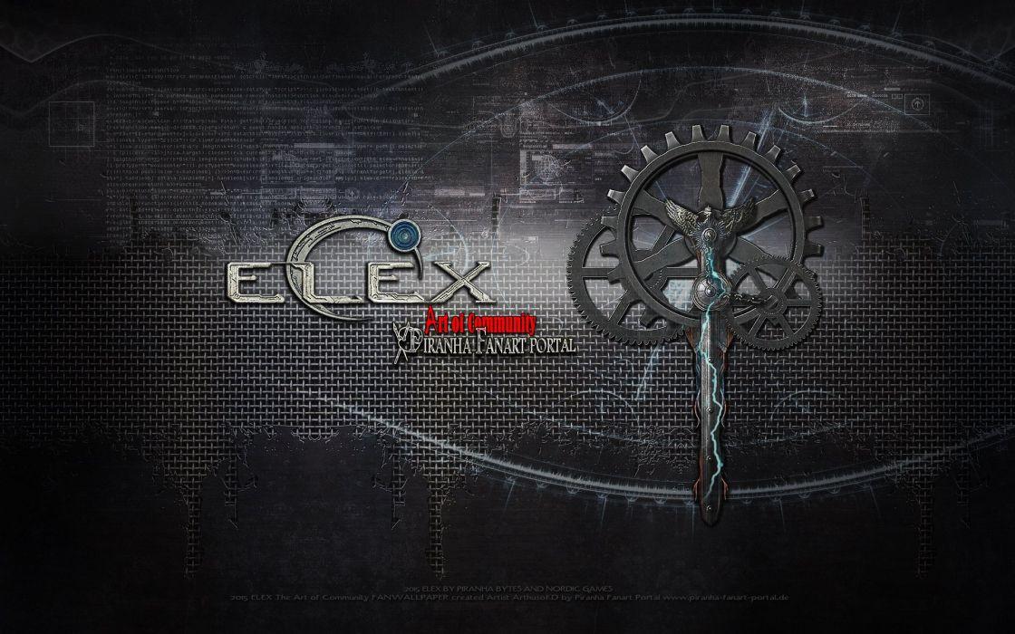 ELEX fantasy action rpg strategy action fighting warrior wallpaper