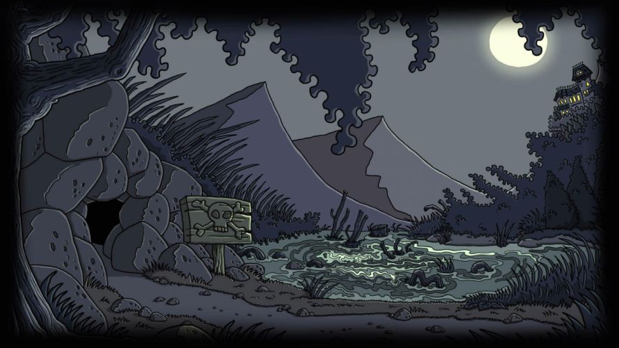 EDNA HARVEY adventure dark fantasy xartoon 1ednah windows horror microsoft halloween wallpaper