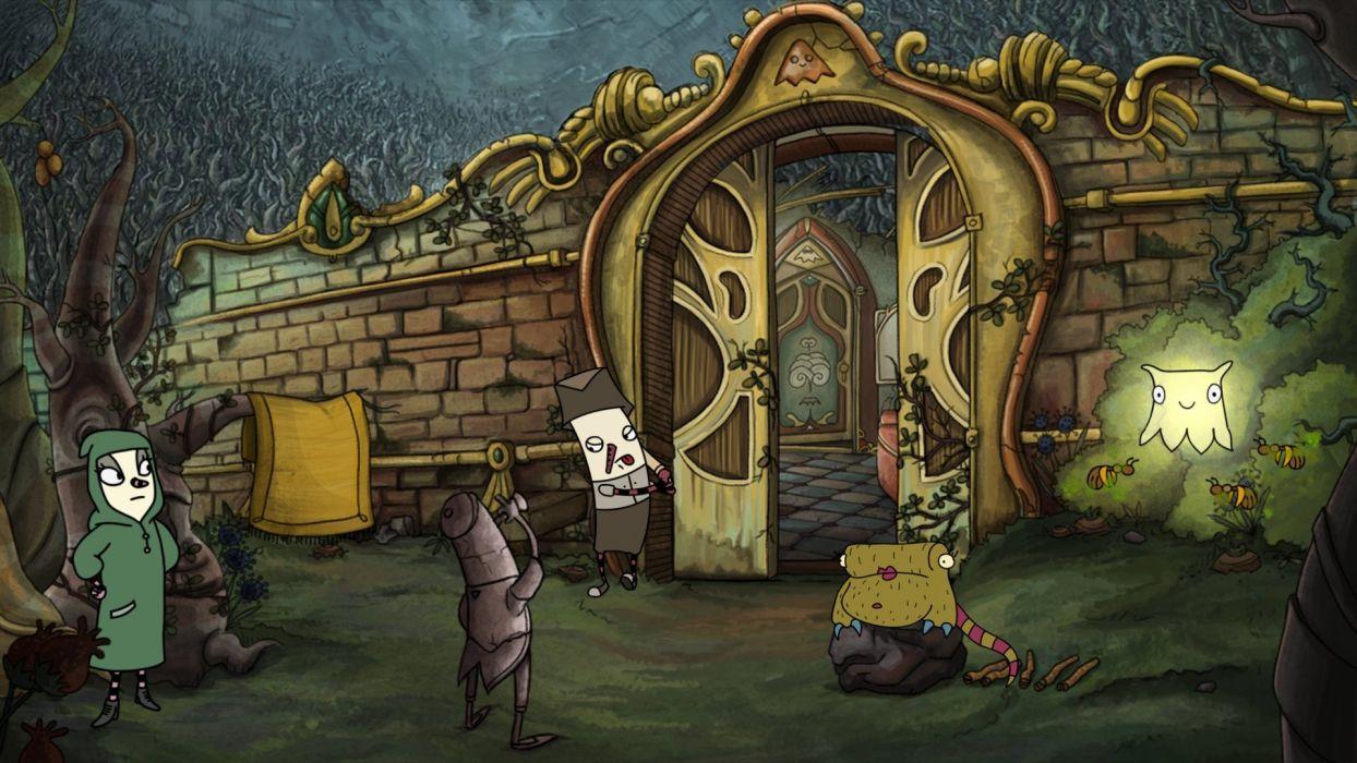 INNER WORLD fantasy adventure dark 1iworld strategy cartoon wallpaper