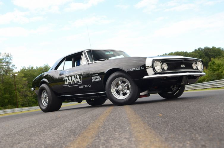 1967 Chevrolet Camaro muscle classic hot rod rods drag race racing custom wallpaper