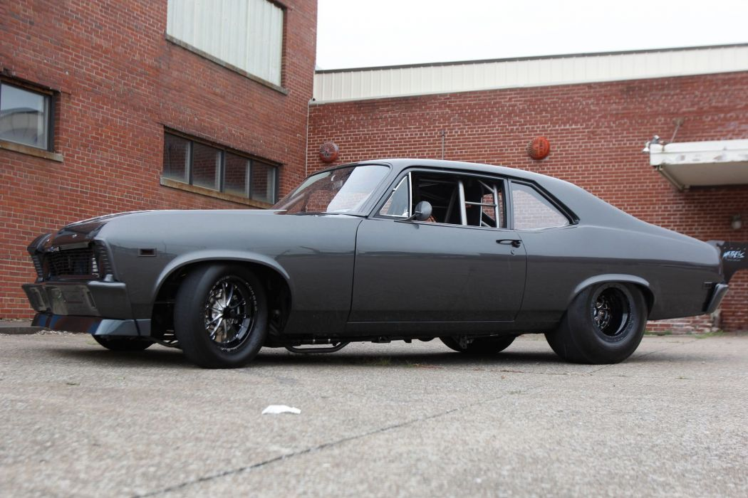 1969 Chevrolet Nova drag race racing muscle hot rod r4ods classic wallpaper