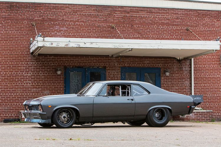 1969 Chevrolet Nova drag race racing muscle hot rod r4ods classic wallpaper