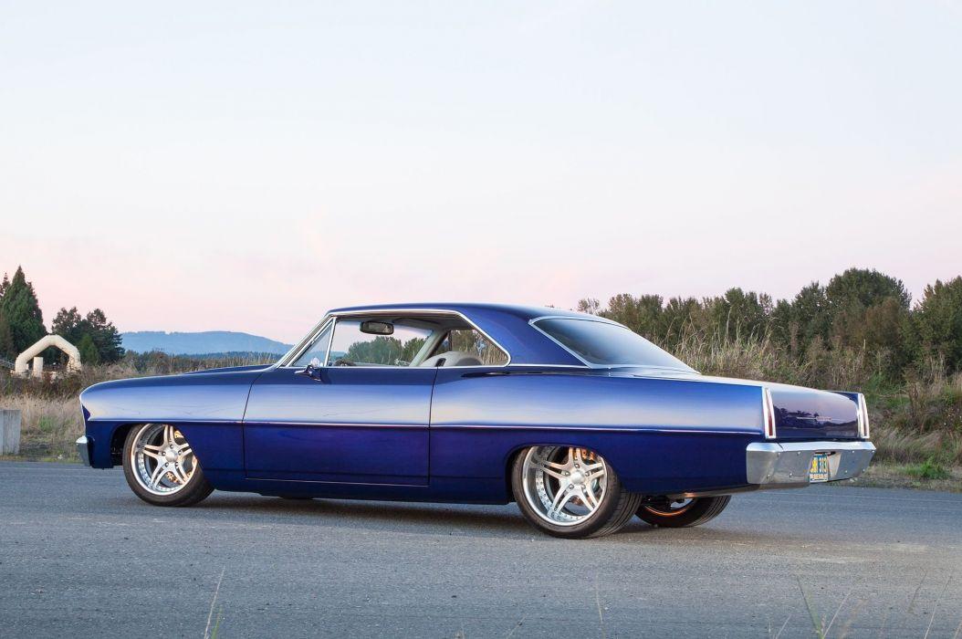 1966 Chevrolet Nova muscle hot rod rods classic custom wallpaper