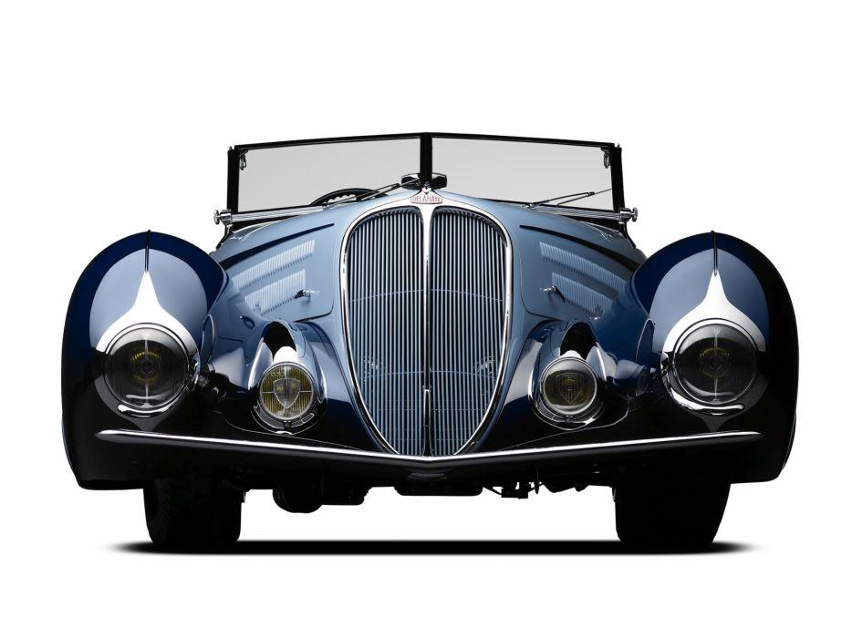 1937 Delahaye 135 M Cabriolet par Figoni Falaschi vintage luxury wallpaper