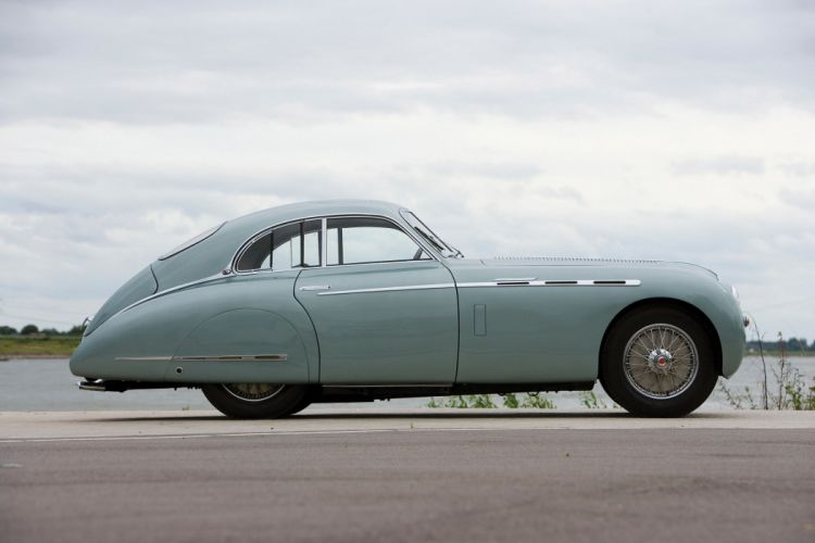 1950 Talbot Lago T26 GS Coupe par Saoutchik retro luxury wallpaper