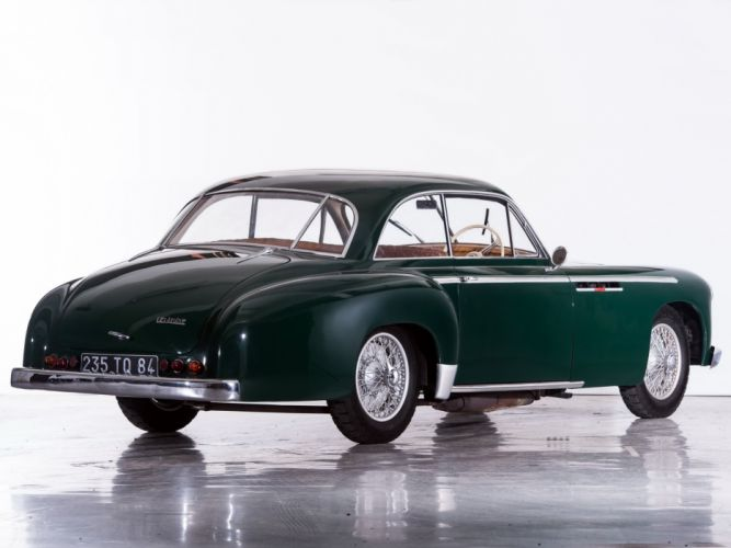 1952 Delahaye 235 MS Coupe par Chapron retro luxury wallpaper