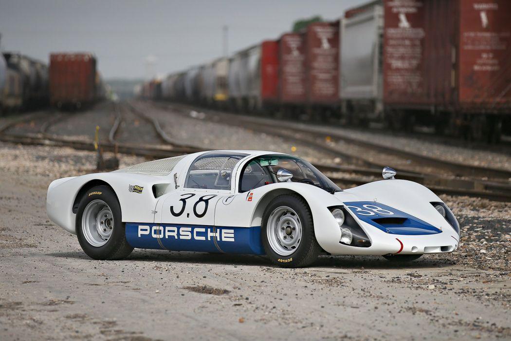 1967 Porsche 906E Racing Coupe 159 race classic rally wallpaper
