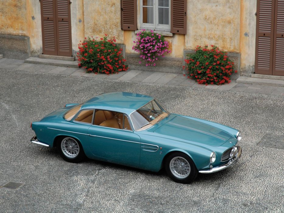 1957 Maserati A6G 2000 G-T retro wallpaper