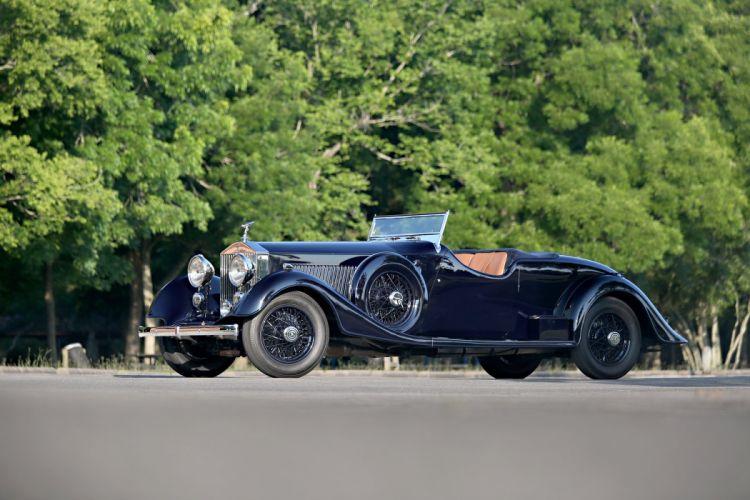 1934 Rolls Royce Phantom II Continental Drophead Coupe Thrupp Maberly 2SK luxury vintage wallpaper