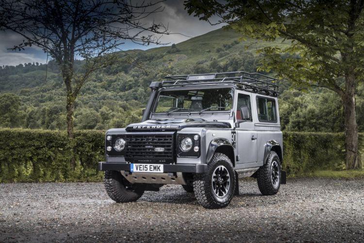 2015 Land Rover Defender 90 Adventure UK-spec 4x4 suv wallpaper