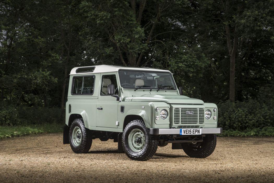 2015 Land Rover Defender 90 Heritage UK-spec 4x4 suv wallpaper