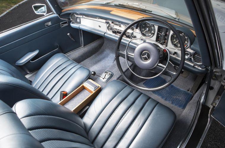1967 Mercedes Benz 280SL UK-spec W113 classic luxury wallpaper